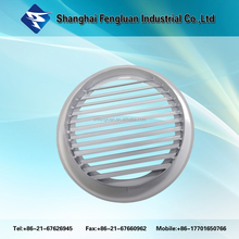 Aluminum Round Wall Vent Louver outlet