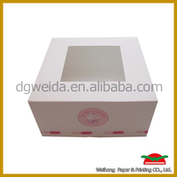 cake packaigng with OEM design and printing factory in China
