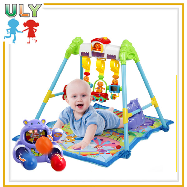 New design actvity gym imitation musical education baby playing mat