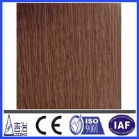 Aluminum Coating Panel With Wood Textures For Wall Decorated Materials