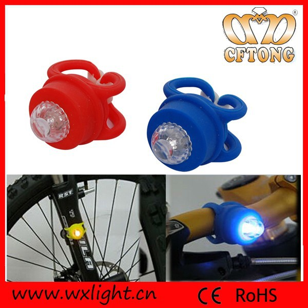2015 Factory Price and Fashion Silicon Cute Bicycle Light