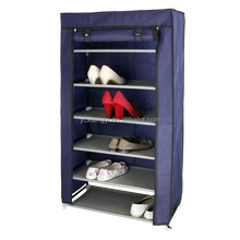 Most Cheapest Shoe Cabinet Folding 6 shelves Storage Tower Organizer