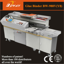 20 Year CE ISO Boway office school Graphic shop 988V Y8 automatic glue binding machine digital album