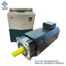 High power density 1700rpm 269.8N.m ac servo brushless motor