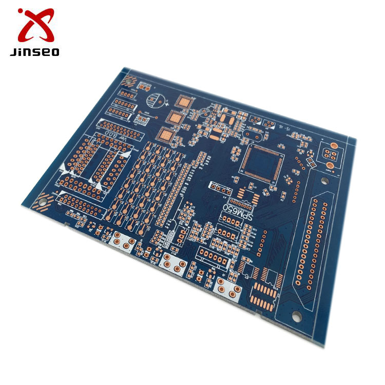 Fr4 2oz 94v0 double sided copper clad laminate pcb board