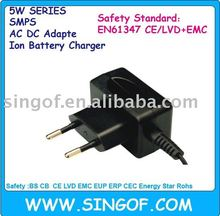 G051T-450100-1 G051T-120050-1 GS CE 61558 61347 Approved switching power supply battery charger ac /dc adapter