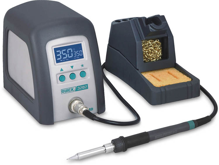 2016 quick 3202 soldering station with solder iron for usb