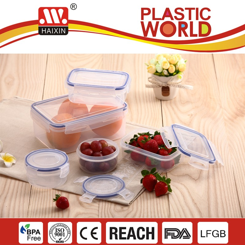 Food Plastic Container/BPA Free/Haixing Plastic