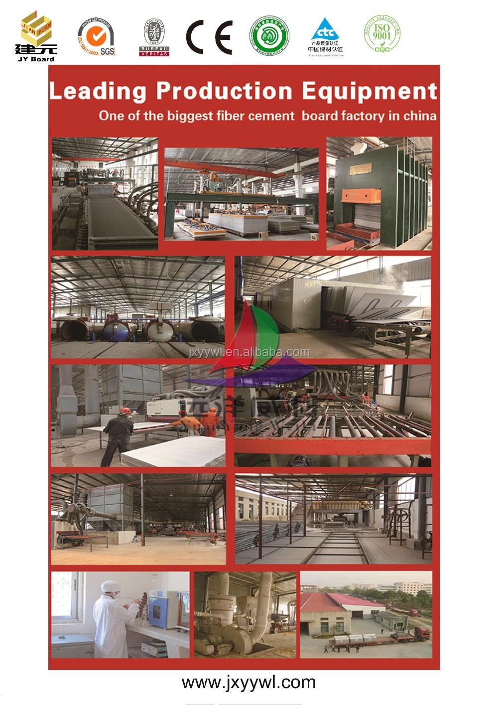 high density fiber cement board similar with Shera board