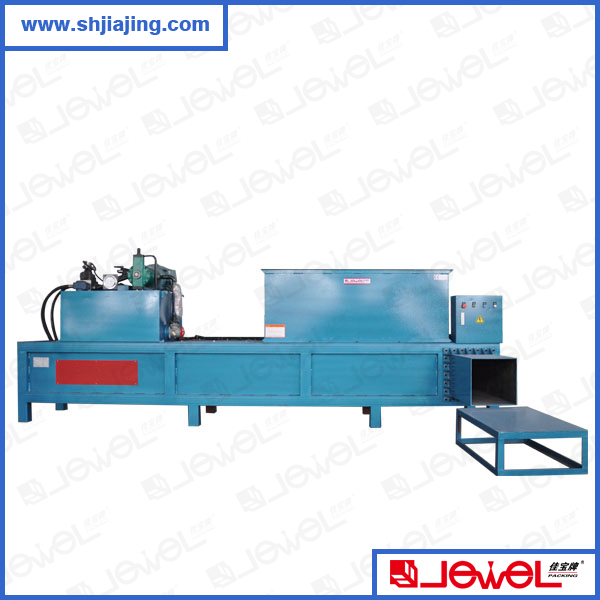 High speed wood shavings press baler machine