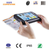 "Rugged 4G LTE tablet pc, 7"" inch, USB, GPS 13.56MHz card reader ,android 5.1.1 handheld barcode scanner"