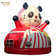 Factory Best Price Inflatable panda house Jumping Bounce with slide for Kids/Adults Outdoor or Indoor Game
