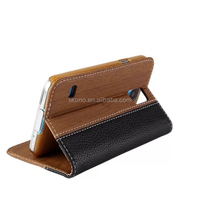 wood +pu splicing case for s5 i9600,for samsung s5 wallet leather case