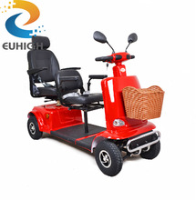 four wheel electric disabled moving cart mobility scooter