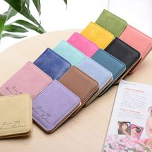 Hot Selling Colorful PU Purse Cheap Leather Wallet