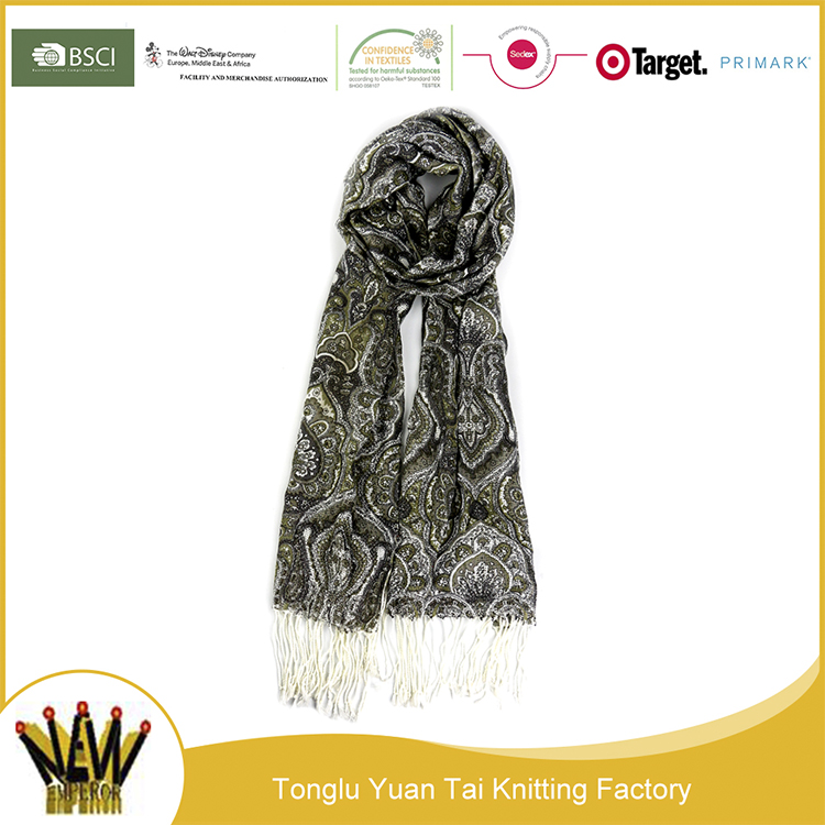 Factory directly wholesale pendant scarf women hijab