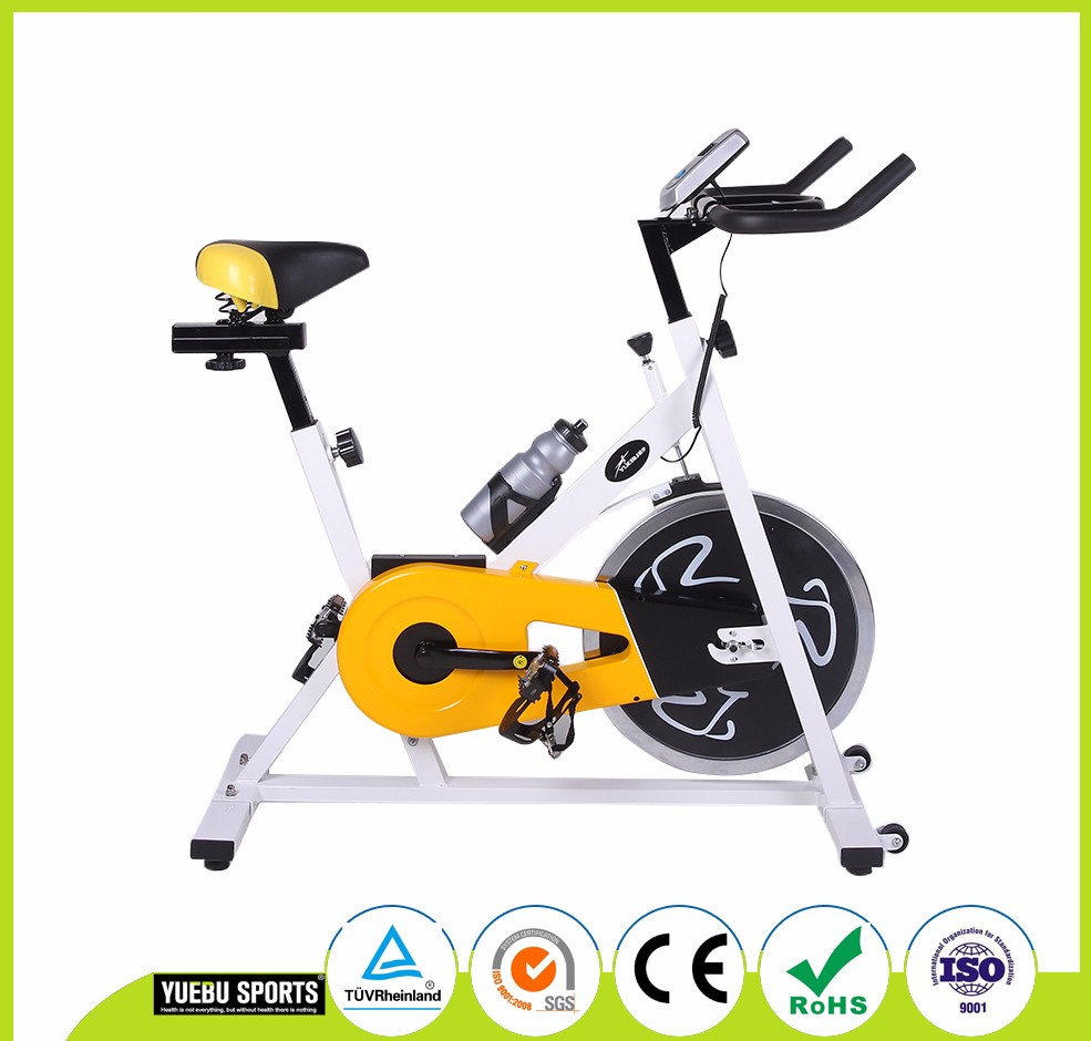 Cheap Fitness Exercise Bike Home Indoor Cycle Racing Spinning Bike With Opition Flywheel