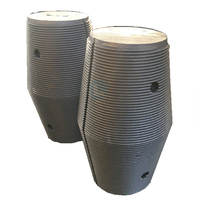 widely used Graphite electrode with tapered nipples