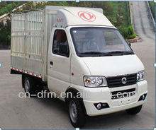 dongfeng 2 Seats Single Row type1 Ton Mini Lattice Truck For Sale