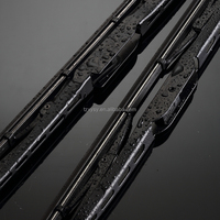 After 2006 Qianlima auto parts Bone wiper blades with synthetic rubber