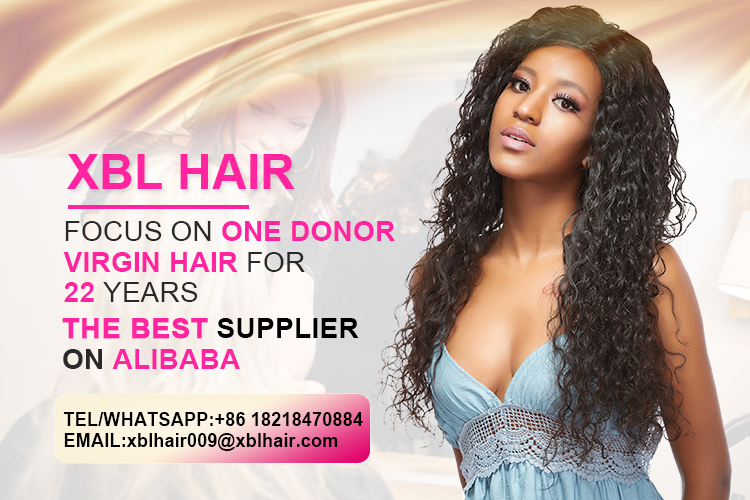 XBL Natural Raw Indian Hair Unprocessed Virgin, Temple Indian Hair Raw Unprocessed Virgin Indian Hair, Mink Indian Virgin Hair