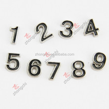 Wholesale number lockets charms