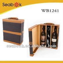 pu two wine bottle package