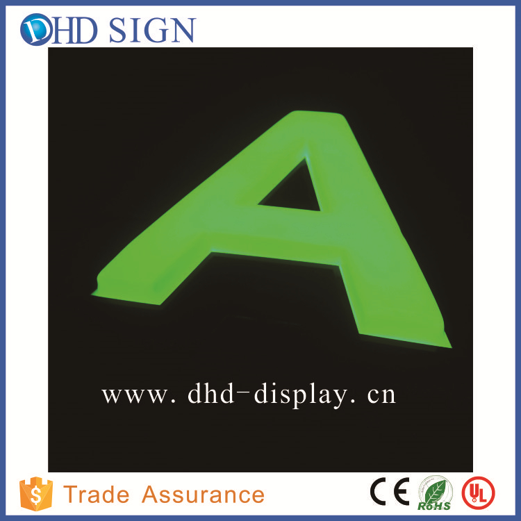 outdoor hair salon sign led letter lights sign 3d acrylic letters acrylic