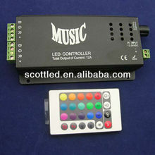 rgb music controller;sound activated light control