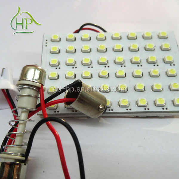 Festoon ledlight 48smd 12v LED car roof top light for reading