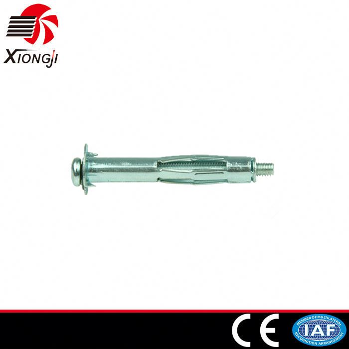 OEM Good Quality Factory Supplier Manufacturer Wholesale High Qualtiy Hollow Wall Anchor Universal Metal Plugs