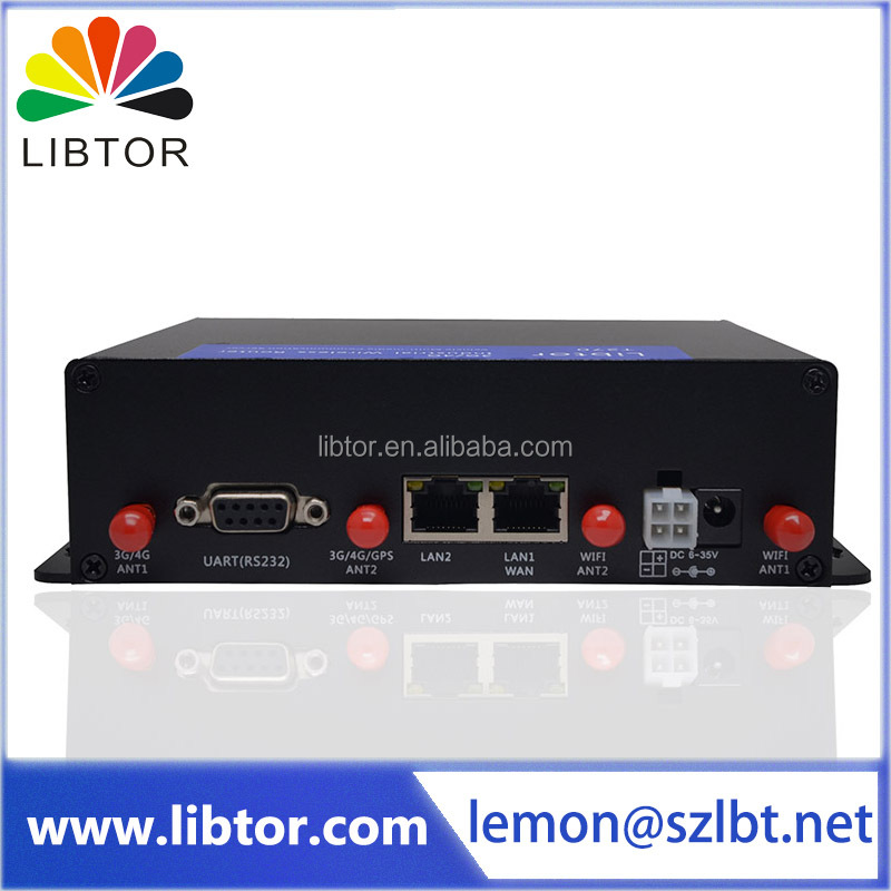 3G wifi advertisment M2M moden Industrial wireless router Supporting different types of DDNS service