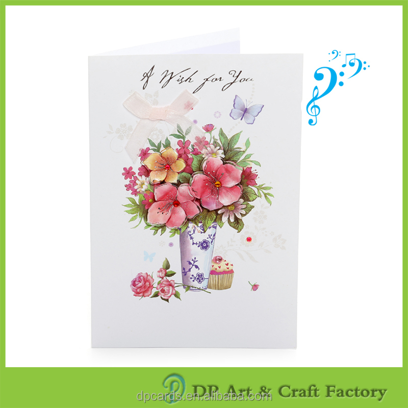High quality greeting card packaging factory directly sell