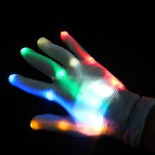 Christmas Lights Wireless Remote Control Led Gloves Fingertip Light Gloves