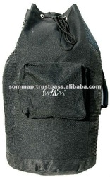 Black Nylon 600 Deniers Diving Bag 750 x 400 mm