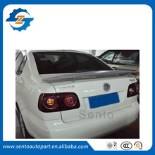ABS plastic primer rear trunk spoiler for polo sedan