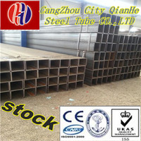 Q345B ASTMA500 EN0210 400*400 galvanized square tube