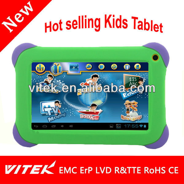 Hot selling learning Capacitive Touch 7 allwinner a13 mid Tablet software download