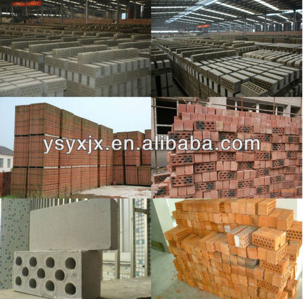 Direct Supplier Automatic Hollow Red Clay Brick Manufacturing Plant