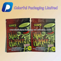 Printing 4g MAD Hatter Legal Herbal Sachet potpourri herbal incense smoke bag/herbal incense bag with ziplocj