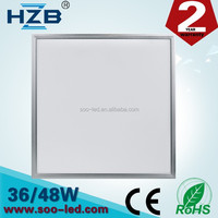 Cheap Price High Lumen 36W LED Square Panel Light 600 x 600 Recessed Lighting
