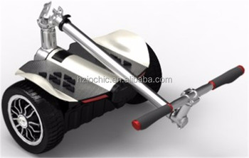 IO CHIC Wholesale proper price Eco-friendly self balancing 9 inch kick folding scooter