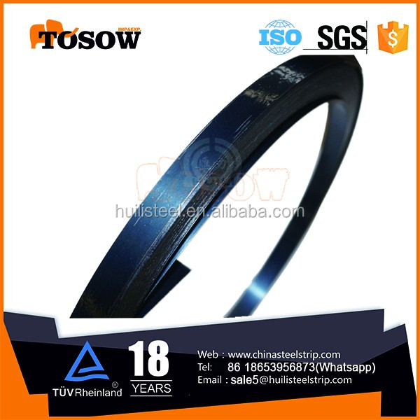 0.5*12.7mm <strong>Q195</strong> blue steel strapping china supplier