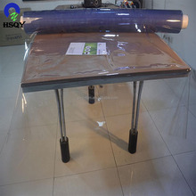 2mm Thickness 1*20m/Roll Composite Material PVC Soft Film for Tablecloth
