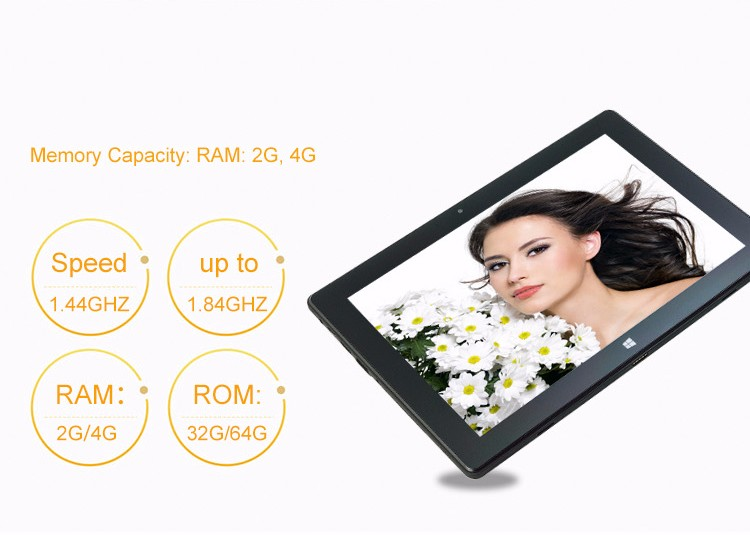 10 inch windows 10 intel z8350 quad core tablet pc with 4gb ram 64gb storage support 3G net