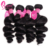 4 Bundles Loose Wave, Natural Color 100% Unprocessed Cheap Price Fashionable Quality 1b# Wavy Human Hair Extensions for Braiding