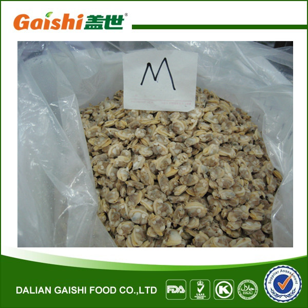 Hot Sale Frozen Baby Clam Meat Without Shell Clams