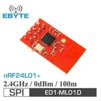 E01-ML01D 1mW 100m NRF24L01+ 2.4GHz wireless audio transmitter module