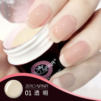 new arrival 15ml zero nana extension uv gel nail polish private lable