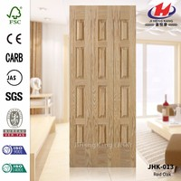 JHK-013 Good Quality And Good Sale In Colombia Lattice Oak Veneer Door Skin